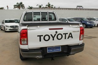 2015 Toyota Hilux GUN122R Workmate Double Cab 4x2 White 5 Speed Manual Utility
