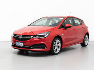 2017 Holden Astra BK MY17 RS Red 6 Speed Manual Hatchback.