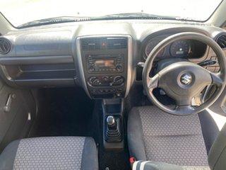 2011 Suzuki Jimny Sierra (4x4) White 5 Speed Manual 4x4 Wagon