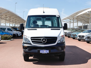 2016 Mercedes-Benz Sprinter 906 MY14 516CDI LWB Hi Roof White 7 Speed Automatic Van.