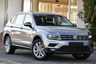 2020 Volkswagen Tiguan 5N MY20 110TSI Comfortline DSG 2WD Allspace Silver 6 Speed.
