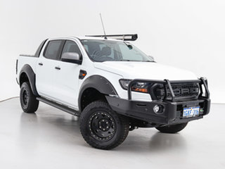 2017 Ford Ranger PX MkII MY17 XLS 3.2 (4x4) White 6 Speed Manual Double Cab Pick Up.