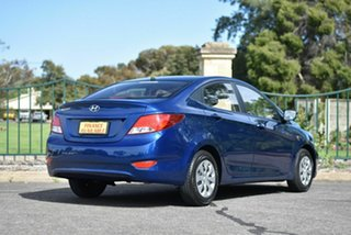 2016 Hyundai Accent RB3 MY16 Active Blue 6 Speed Constant Variable Sedan