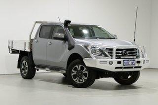 2018 Mazda BT-50 MY18 XTR (4x4) Silver 6 Speed Automatic Dual Cab Utility.