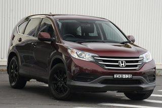 2013 Honda CR-V RM MY14 VTi Navi Burgundy 5 Speed Automatic Wagon.