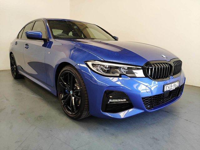 Demo BMW 3 Series G20 330i Steptronic M Sport, 2020 BMW 3 Series G20 330i Steptronic M Sport Portimao Blue 8 Speed Sports Automatic Sedan