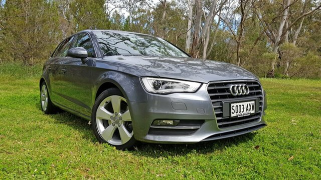 Used Audi A3 8V Ambition Sportback S Tronic Nuriootpa, 2013 Audi A3 8V Ambition Sportback S Tronic Grey 7 Speed Sports Automatic Dual Clutch Hatchback
