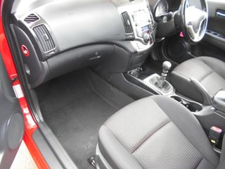 2010 Hyundai i30 FD MY10 SLX Red 5 Speed Manual Hatchback