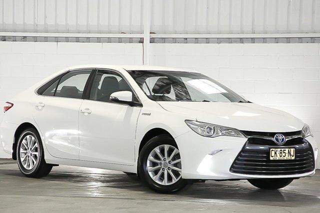 Used Toyota Camry AVV50R Altise, 2017 Toyota Camry AVV50R Altise White 1 Speed Constant Variable Sedan Hybrid