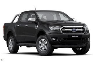 2020 Ford Ranger PX MkIII 2020.75MY XLT Black 6 Speed Sports Automatic Double Cab Pick Up.