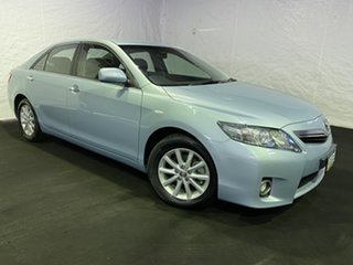 2010 Toyota Camry ACV40R MY10 Altise Silver 5 Speed Automatic Sedan.
