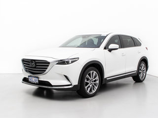2018 Mazda CX-9 MY18 Azami (FWD) White 6 Speed Automatic Wagon.