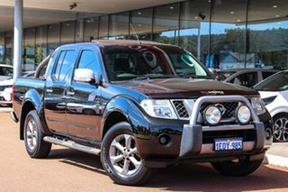 2014 Nissan Navara D40 S7 Titanium Black 5 Speed Sports Automatic Utility.
