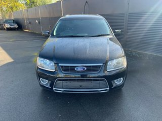 2011 Ford Territory SY MkII TS AWD Limited Edition Black 6 Speed Sports Automatic Wagon.