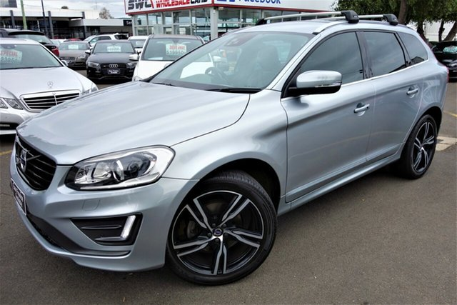 Used Volvo XC60 DZ MY17 T6 Geartronic AWD R-Design Seaford, 2016 Volvo XC60 DZ MY17 T6 Geartronic AWD R-Design Silver 8 Speed Sports Automatic Wagon