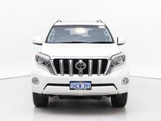 2016 Toyota Landcruiser Prado GDJ150R MY16 Kakadu (4x4) White 6 Speed Automatic Wagon.