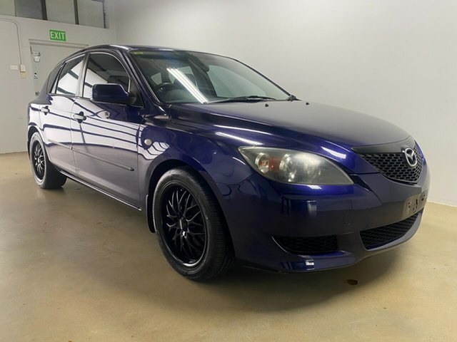 Used Mazda 3 BK Neo Phillip, 2004 Mazda 3 BK Neo Blue 5 Speed Manual Hatchback