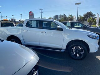 2020 Mazda BT-50 Ice White Automatic.