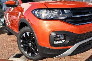 2021 Volkswagen T-Cross C1 MY21 85TSI DSG FWD Life Energetic Orange 7 Speed.