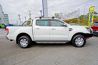 2016 Ford Ranger PX MkII XLT Double Cab 4x2 Hi-Rider White 6 Speed Manual Utility