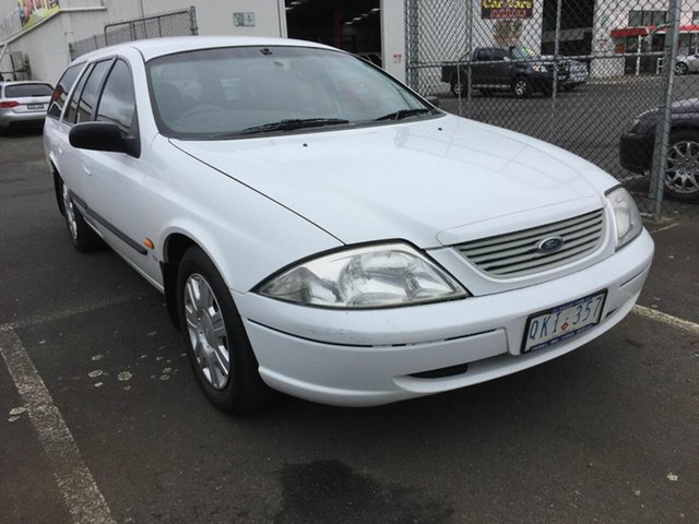 Used Ford Falcon AUII Forte (LPG), 2000 Ford Falcon AUII Forte (LPG) White 4 Speed Automatic Wagon