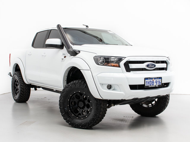 Used Ford Ranger PX MkII MY18 XLS 3.2 (4x4), 2018 Ford Ranger PX MkII MY18 XLS 3.2 (4x4) White 6 Speed Automatic Double Cab Pick Up
