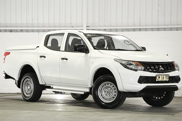 Used Mitsubishi Triton MQ MY17 GLX Double Cab, 2017 Mitsubishi Triton MQ MY17 GLX Double Cab White 5 Speed Sports Automatic Utility