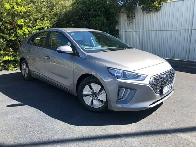 Used Hyundai Ioniq AE.3 MY20 hybrid DCT Elite Devonport, 2019 Hyundai Ioniq AE.3 MY20 hybrid DCT Elite Fluid Metal 6 Speed Sports Automatic Dual Clutch