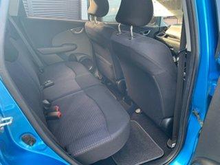 2010 Honda Jazz GE MY10 VTi Blue 5 Speed Manual Hatchback