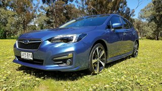 2018 Subaru Impreza G5 MY18 2.0i-S CVT AWD Blue 7 Speed Constant Variable Hatchback