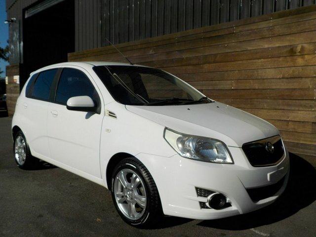 Used Holden Barina TK MY11 Labrador, 2010 Holden Barina TK MY11 White 4 Speed Automatic Hatchback