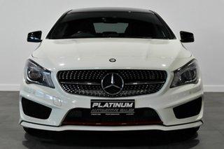 2014 Mercedes-Benz CLA-Class C117 CLA250 DCT 4MATIC Sport White 7 Speed Sports Automatic Dual Clutch.