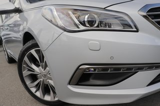 2016 Hyundai Sonata LF MY16 Premium Ion Silver 6 Speed Sports Automatic Sedan.