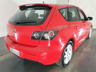 2007 Mazda 3 BK10F2 Maxx Sport Red 4 Speed Sports Automatic Hatchback