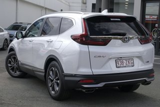 2020 Honda CR-V RW MY21 VTi FWD L7 Platinum White 1 Speed Constant Variable Wagon.