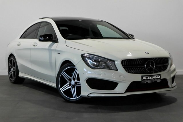 Used Mercedes-Benz CLA-Class C117 CLA250 DCT 4MATIC Sport Bayswater, 2014 Mercedes-Benz CLA-Class C117 CLA250 DCT 4MATIC Sport White 7 Speed Sports Automatic Dual Clutch
