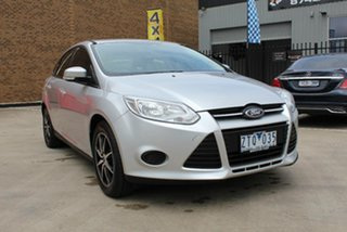 2013 Ford Focus LW MK2 Upgrade Ambiente Silver 6 Speed Automatic Sedan