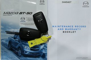 2018 Mazda BT-50 MY18 XTR (4x4) Silver 6 Speed Automatic Dual Cab Utility