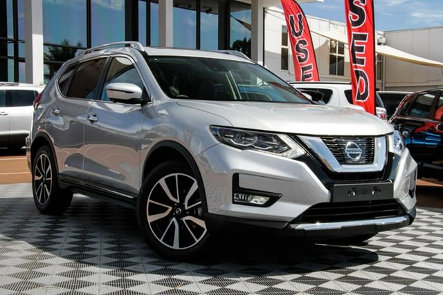 Used Nissan X-Trail T32 Series II Ti X-tronic 4WD, 2020 Nissan X-Trail T32 Series II Ti X-tronic 4WD Silver 7 Speed Constant Variable Wagon