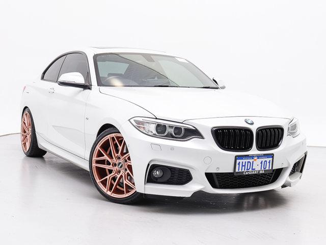 Used BMW 228i F22 M Sport, 2015 BMW 228i F22 M Sport White 8 Speed Automatic Coupe
