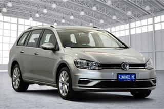 2017 Volkswagen Golf 7.5 MY18 110TSI DSG Comfortline Silver 7 Speed Sports Automatic Dual Clutch.