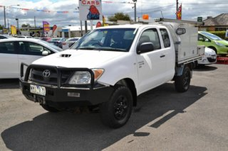 2008 Toyota Hilux KUN26R 08 Upgrade SR (4x4) White 5 Speed Manual X Cab Cab Chassis