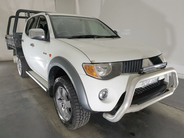 Used Mitsubishi Triton ML MY08 GLX-R Double Cab, 2008 Mitsubishi Triton ML MY08 GLX-R Double Cab White 5 Speed Manual Utility