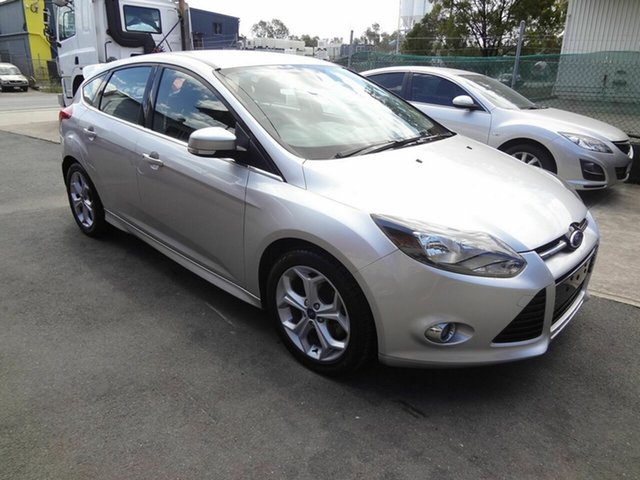 Used Ford Focus LW Sport, 2012 Ford Focus LW Sport Silver 6 Speed Automatic Hatchback