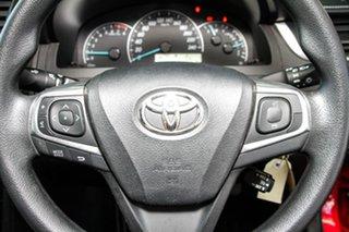 2017 Toyota Camry ASV50R MY16 Altise Cherry 6 Speed Automatic Sedan