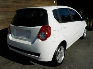 2010 Holden Barina TK MY11 White 4 Speed Automatic Hatchback.