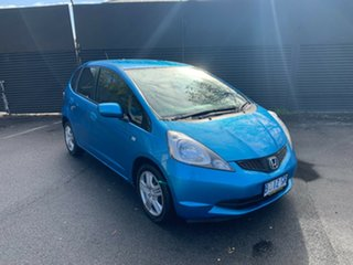 2010 Honda Jazz GE MY10 VTi Blue 5 Speed Manual Hatchback