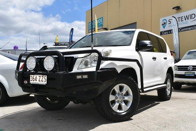 Used Toyota Landcruiser Prado KDJ150R GX (4x4), 2010 Toyota Landcruiser Prado KDJ150R GX (4x4) White 6 Speed Manual Wagon