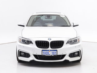 2015 BMW 228i F22 M Sport White 8 Speed Automatic Coupe.