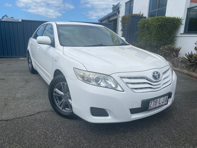 Used Toyota Camry ACV40R Altise, 2009 Toyota Camry ACV40R Altise White 5 Speed Automatic Sedan